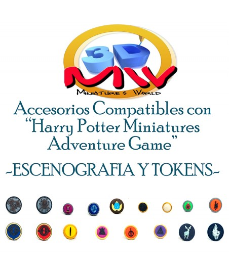"Pack Tokens ""Harry Potter:..."