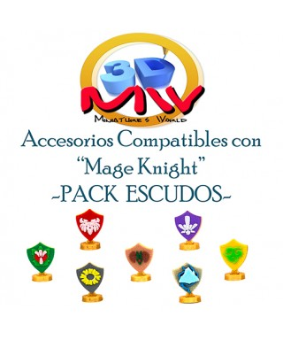 Pack Escudos Mage Knight