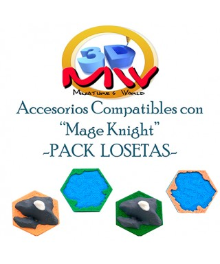 Pack Losetas Mage Knight
