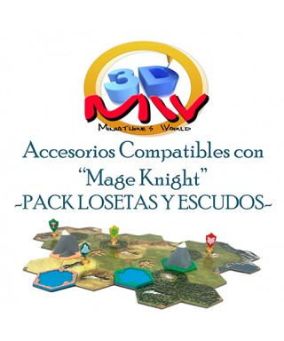 Pack Completo Mage Knight