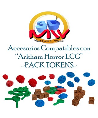 Pack tokens Arkham Horror LCG
