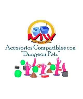 Pack Tokens Dungeon Petz
