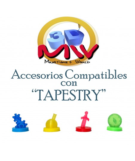 Pack de Marcadores Tapestry
